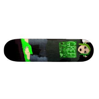 Monopatín del patinador del monstruo patin personalizado