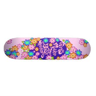 Monopatín del poder del chica skate boards