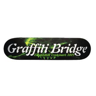 """Monopatín del puente de la pintada patineta 7 1/8"""""""
