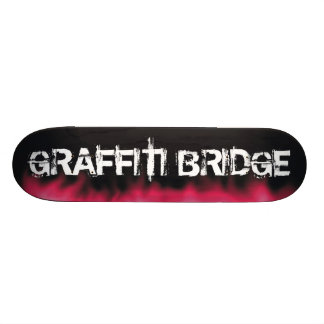 """Monopatín del puente de la pintada patineta 7 3/4"""""""