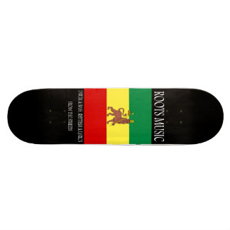 Monopatín del reggae de la música de las raíces patineta personalizada