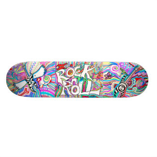 Monopatín del rock-and-roll skate boards