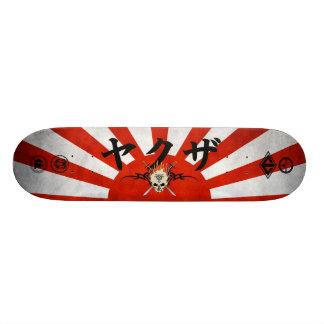 Monopatín del sol naciente patinetas personalizadas