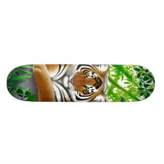 """Monopatín del tigre de la selva patineta 7 3/8"""""""
