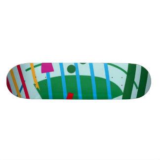 Monopatín del tsunami patines