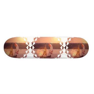Monopatín del velero del Spinnaker de la navegació Skateboard