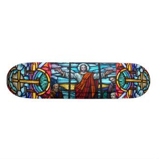 Monopatín del vitral skate boards