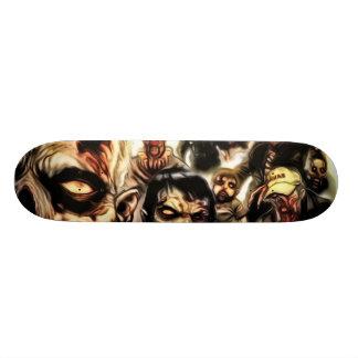 Monopatín del zombi tabla de skate