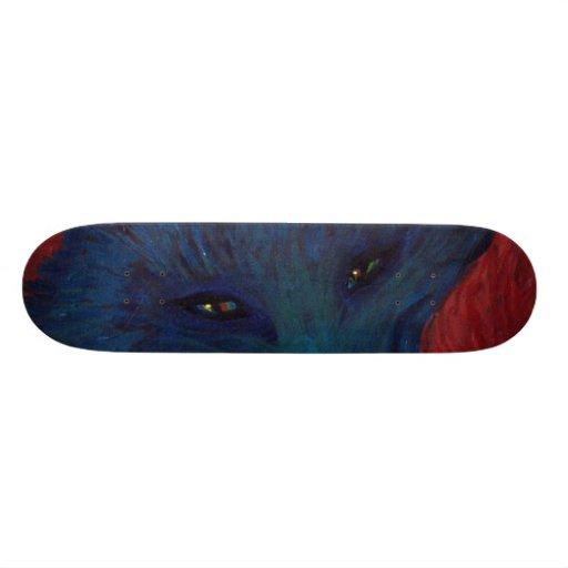 monopatín del zorro tablas de skate