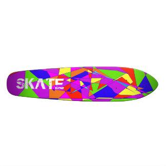 Monopatín doble del arco iris skate boards