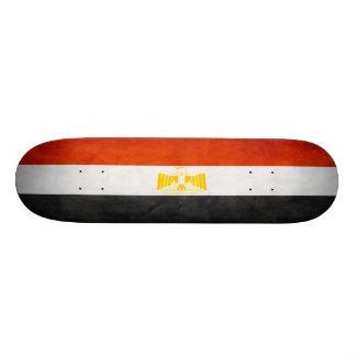 Monopatín egipcio de la bandera skate board