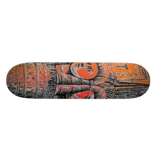 Monopatín egipcio de la columna patin personalizado