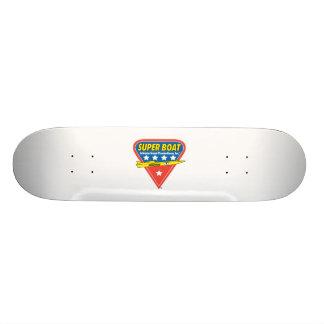 monopatín estupendo del barco tabla de patinar