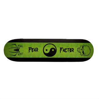 Monopatín: Factor del miedo Skate Board