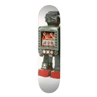 Monopatín gigante del robot