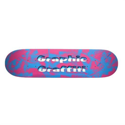 """Monopatín gráfico de la pintada patineta 8 1/2"""""""