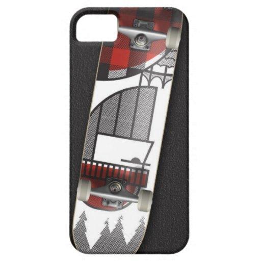 monopatín iPhone 5 Case-Mate cárcasa