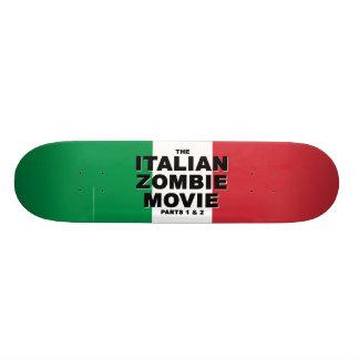Monopatín italiano de la película del zombi patinetas personalizadas