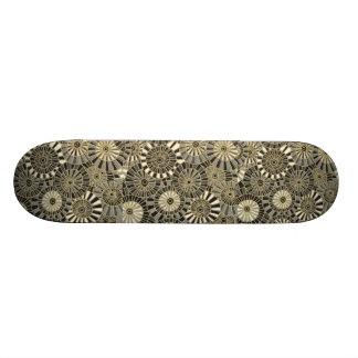 Monopatín japonés fresco de la materia textil
