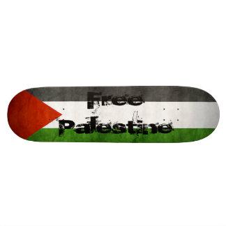 Monopatín libre de Palestina Tablas De Patinar