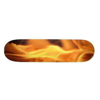 Monopatín llameante skate boards