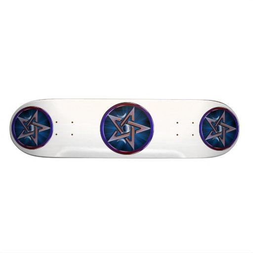 Monopatín lunar del Pentagram de la diosa Patines Personalizados