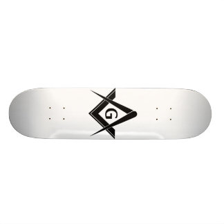 Monopatín masónico tablas de skate