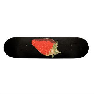 Monopatín negro de la fresa skate board