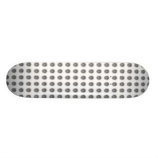 Monopatín negro del LED Skate Boards