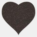 Monopatín negro Griptape Pegatina De Corazón Personalizadas