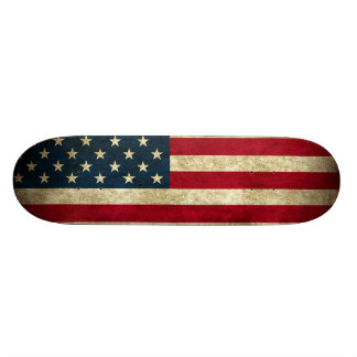 """Monopatín patriótico que ofrece la bandera america patineta 8 1/8"""""""