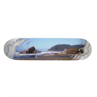 """Monopatín pintado de la costa patineta 7 7/8"""""""