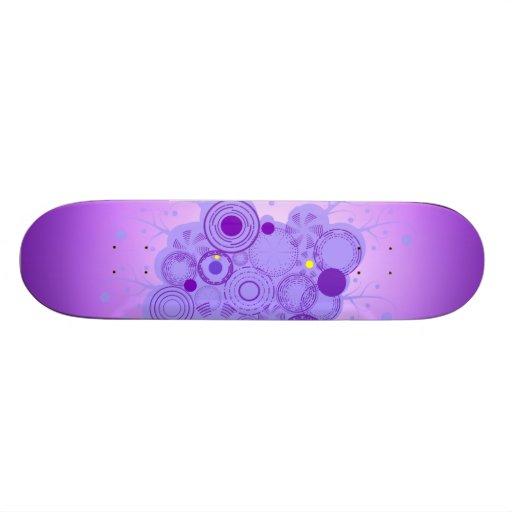 Monopatín púrpura de la pasión