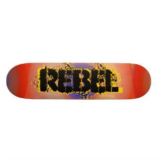 Monopatín rebelde tablas de skate