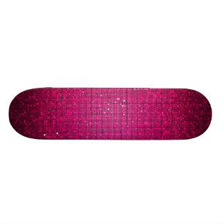 Monopatín rosado de los comp del Glitz del disco d