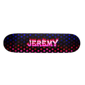 Monopatín rosado de Skatersollie del fuego de Skateboard