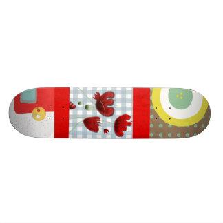 Monopatín salvaje de la amapola del verano tablas de skate