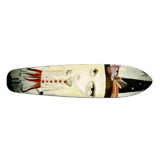 Monopatín solo de la muñeca del grito gótico skateboards