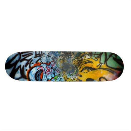 Monopatín urbano del arte # 1 tablas de skate