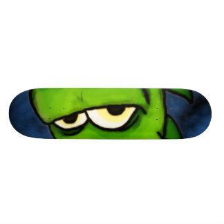 Monopatín verde de Gremlin Patines Personalizados
