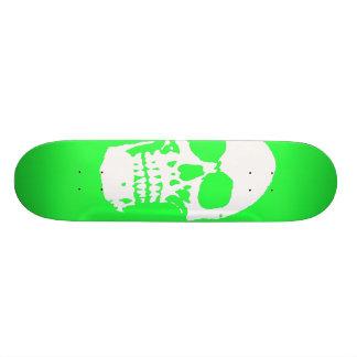 Monopatín verde del infierno tablas de patinar