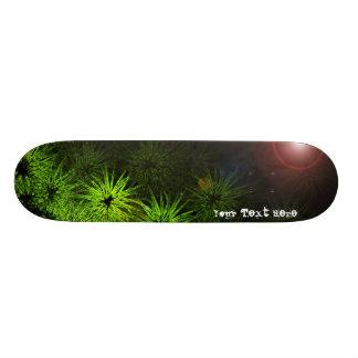 Monopatín verde