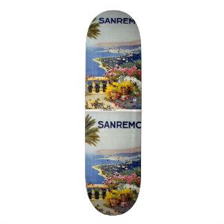 Monopatines de Sanremo Italia del viaje del