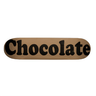Monopatines del chocolate