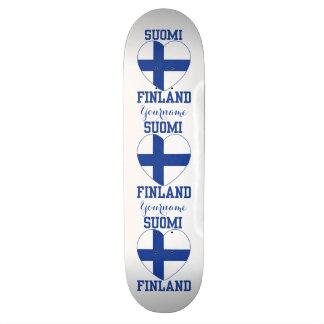 Monopatines del personalizado de SUOMI FINLANDIA Patín Personalizado