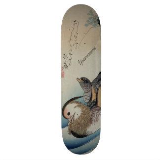 Monopatines japoneses del personalizado del arte patines