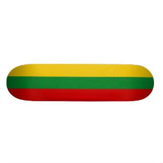 Monopatines lituanos de la bandera