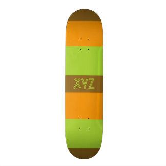Monopatines tricolores del personalizado de las ra patin personalizado