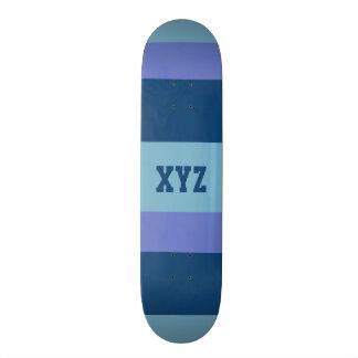 Monopatines tricolores del personalizado de las ra skateboard