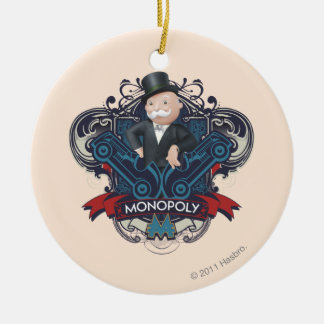 Monopoly Blue Ceramic Ornament